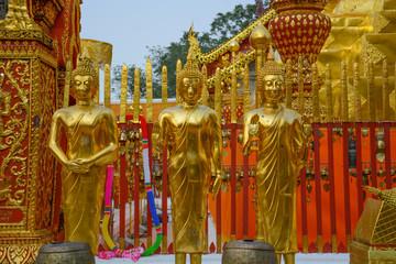 Doi Suthep Buddhist Temple in Chiang Mai, Thailand