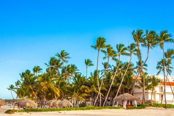 Beautiful sunny day in Punta Cana