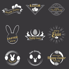 Happy Easter logo