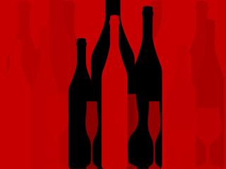 Wine background vector