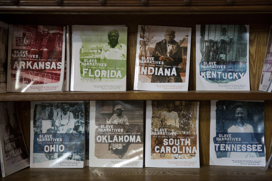 Oral histories of slaves for sale at the Whitney Plantation in Wallace Louisiana