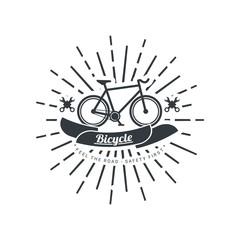 Illustration Bicycle Vintage Badges