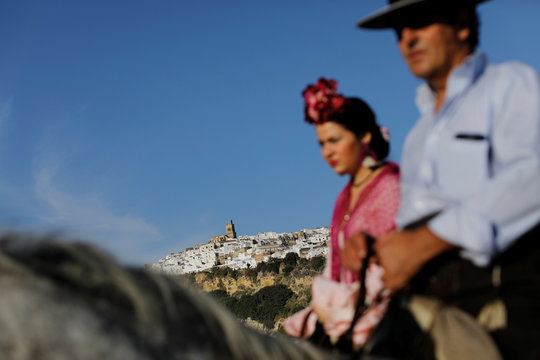 The Wider Image: Life in Andalusia's pueblos blancos