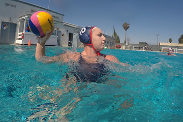 Water polo - U.S. women's team training
