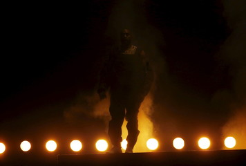 "Kanye West performs ""All Day"" at the 2015 Billboard Music Awards in Las Vegas"