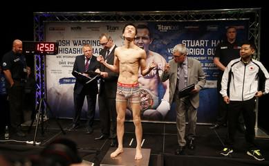 Josh Warrington & Hisashi Amagasa Weigh-In