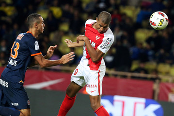 Monaco v Montpellier - French Ligue 1 - Louis II stadium