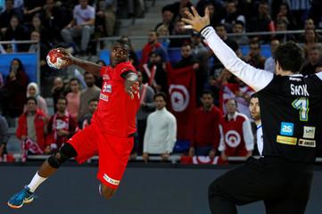 Men's Handball - Slovenia v Tunisia - 2017 Men's World Championship Main Round - Group B
