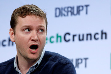 Jon Stein, Betterment's co-founder and CEO, speaks during the TechCrunch Disrupt event in Brooklyn borough of New York