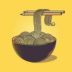Doodle noodles