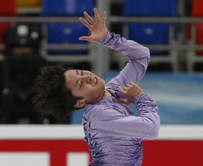 Figure Skating - ISU Grand Prix Rostelecom Cup 2016/2017 - Men's Short Program