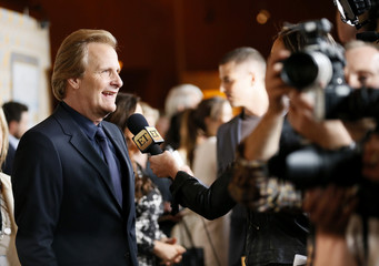 "Jeff Daniels is interviewed at the Season 3 Premiere of HBO's ""The Newsroom"" in Los Angeles"