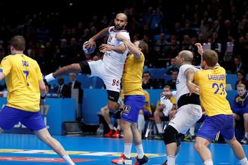 Men's Handball - Sweden v Qatar - 2017 Men's World Championship Main Round - Group D