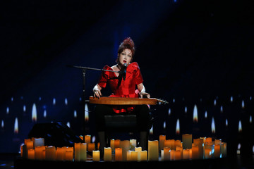Singer Cyndi Lauper performs during the American Theatre Wing's annual Tony Awards in New York