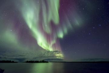 Tuinposter Noorderlicht Aurora explosion