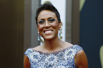Television personality Robin Roberts arrives at the 86th Academy Awards in Hollywood