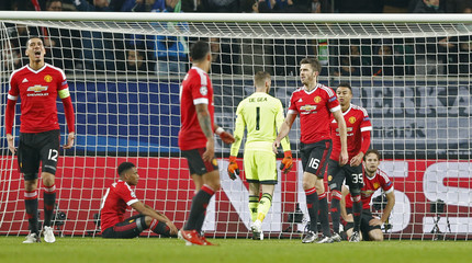 VfL Wolfsburg v Manchester United - UEFA Champions League Group Stage - Group B