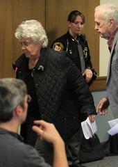 Grandparents of T.J. Lane leave juvenile court hearing in Chardon, Ohio