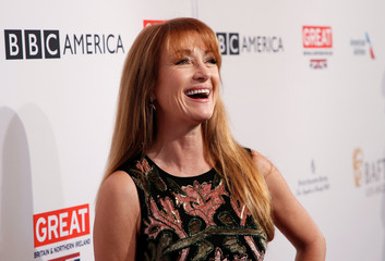 Actor Jane Seymour poses at the BAFTA Los Angeles Awards Season Tea Party in Los Angeles