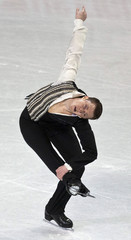 Jeremy Abbott skates  during the men's short program at the U.S. Figure Skating Championships in Greensboro