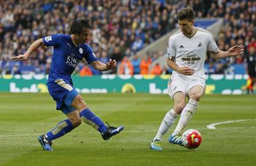 Leicester City v Swansea City - Barclays Premier League