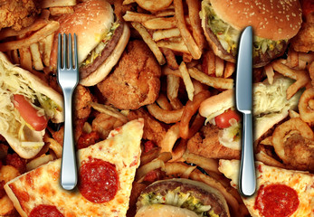 Eating High Cholesterol Food
