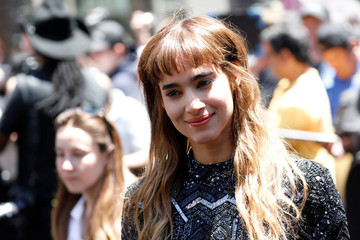 """Actors Sofia Boutella attends an event to promote the film """"The Mummy"""" at the Hollywood and Highland gateway in Hollywood"""