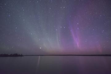 Lake reflex Aurora