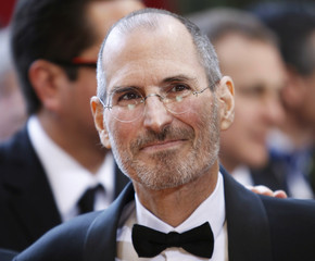 Apple CEO Steve Jobs arrives at the 82nd Academy Awards in Hollywood