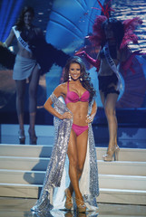 Sanchez takes part in the swimsuit portion of the 63rd Annual Miss Universe Pageant in Miami