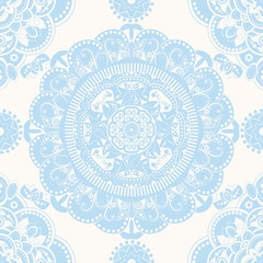 Spring floral seamless pattern. Provence style. Flowers wallpaper