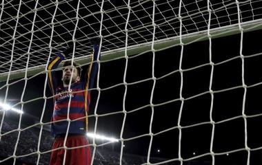 Football Soccer - Barcelona v Espanyol - Spain King's Cup - Camp Nou stadium, Barcelona