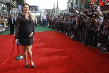 "Larter poses at the premiere of ""Secretariat"" at El Capitan theatre in Hollywood"
