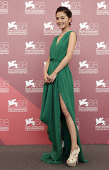 Actress Choi poses  during 68th Venice Film Festival
