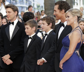 Director Nichols cast members arrive on the red carpet for the screening of the film Mud at the 65th Cannes Film Festival