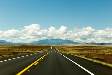 Remote Arizona Highway