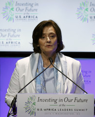 Cherie Blair participates at Investing in Our Future forum in Washington