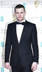 Presenter Jack O'Connell poses at the British Academy of Film and Television Arts (BAFTA) Awards at the Royal Opera House in London