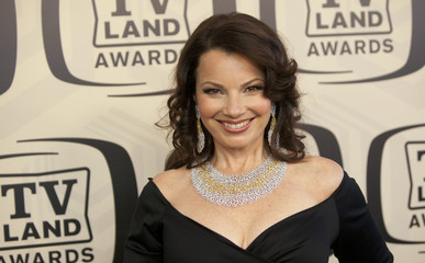 Actress Fran Drescher arrives for the TV Land Awards 10th Anniversary at the Lexington Avenue Armory in New York