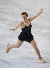Ashley Wagner skates during the women's short program at the U.S. Figure Skating Championships in Greensboro