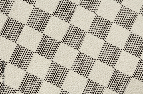 Black And White Leather Texture Background Checker Chess Seamless Pattern Square Abstract