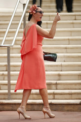 Jury member actress Rossy de Palma arrives to attend a photocall before the opening of the 68th Cannes Film Festival in Cannes