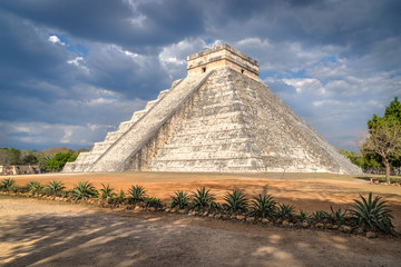 El Castillo at Chichen Itza in Mexico.
