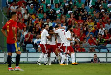 Football Soccer - Spain v Georgia - International Friendly -