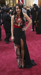 """Actress Linklater from the Best Picture nominated film """"Boyhood"""" arrives at the 87th Academy Awards in Hollywood"""