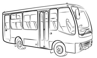 Sketch of bus.