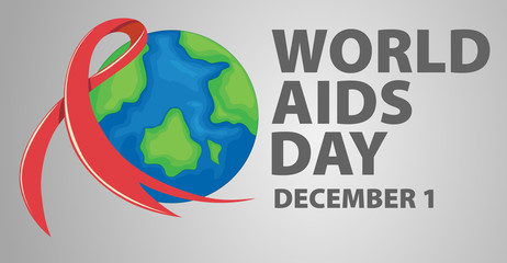 Poster design for World Aids Day