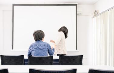 教室での男女トラブル