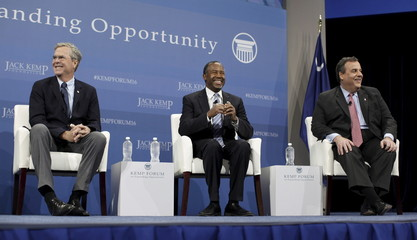 Bush, Carson and Christie participate at the 2016 Kemp Forum on Expanding Opportunity in Columbia