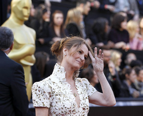 Best supporting actress nominee Leo arrives at the 83rd Academy Awards in Hollywood